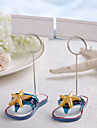 Place Cards and Holders Beache Theme Starfish Place Card Holder - Set of 2
