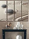 Sand And Stone Clock in Canvas 4pcs