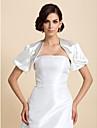 Wedding / Party/Evening Satin Coats/Jackets Short Sleeve Wedding  Wraps