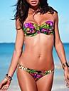 Donna Fascia dell\annata della Boemia stampa floreale Sexy Beach Wear Swimwear del bikini