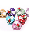 Romantic Heart-shaped Favor Tins With Flowers - Set of 12 (More Colors)