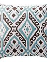 twopages® oreiller en coton couverture / oreiller avec insertion geometrique moderne / contemporaine