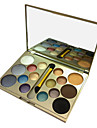 16 Palette Fard a paupieres Palette Fard a paupieres Poudre Normal Maquillage Smoky-Eye Maquillage Quotidien