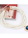 miki ädelsten pärla stack halsband