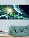 Întins Canvas Art The Mysterious Sky Set de 3