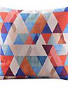 flerfärgad triangel mosaik dekorativa örngott