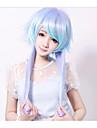 Dragon Singing Blue And Purple Mixed Long Straight Fairy Princess Lolita Wig