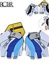 ZERGLBR Gants sport Homme Unisexe Gants de Cyclisme Automne Printemps Ete Gants de Velo Respirable Resistant aux Chocs Les mitaines Fibre