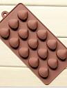 5 håls xian bei bränna form cake is jelly choklad formar, silikon 21,5 × 10,5 × 1,8 cm (8,5 × 4,1 × 0,7 tum)