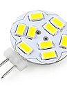 G4 LED-spotlights A60(A19) 12 SMD 5730 200 lm Kallvit Dekorativ DC 12 V