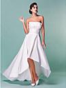 Lanting Bride® Linea-A / Da principessa Petite / Taglie forti Abito da sposa - Classico / Moderno / Da ricevimento AsimmetricoSenza