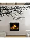 zooyoo®fashion materail de vinyle noir amovible et arbre de couleur sticker mural branche decoration murale autocollant d\'art decor a la