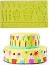 Moule de Cuisson Pour Gateau Pour Cookie For Chocolate Silikon Bricolage Ecologique 3D
