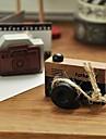 timbre en bois de modele de l\'appareil photo vintage (couleurs aleatoires)