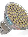 Lampadas de Foco de LED GU10 3W 270 LM 6000-6500 K Branco Frio 60 SMD 3528 AC 110-130 V MR16
