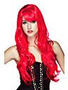 Cosplay Peruker / Maskerad Cosplay Festival/Högtid Halloween Kostymer Röd Enfärgat Peruk Halloween / Karnival Kvinna
