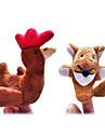 Marionnette de Doigt Poulet Dessin Anime Loisirs Pour Garcons Pour Filles Tissu