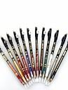 durable crayon professionnel de 24 heures impermeable colore liquide eyeliner avec les PC crayon de sharpener12
