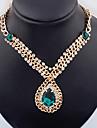 dream mode temperament elegance de style europeen de larme millesime joyau des femmes decoupe colliers metalliques