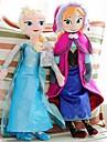fryst gnistra prinsessa elsa och annastuffed mjuk plysch docka anime actionfigurer modell leksak (2st 21 tum)