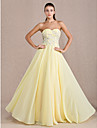 TS Couture® Formal Evening / Prom / Military Ball Dress - Daffodil Plus Sizes / Petite Sheath/Column Sweetheart Floor-length Chiffon