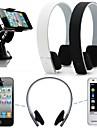 stereo trådlösa bluetooth hörlurar hörlurar headset för iphone 6 / 6plus / 5 / 5s / 4 / 4s samsung htc lg sony xiao mi
