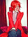 Fantasia de Cosplay do Grell Sutcliff do Anime Mordomo de Preto - Black Butler