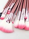 Professional Makeup Brushes With Pink Bag(22 Pcs)