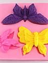 butterfly fondant tårta choklad silikonform kaka dekoration verktyg, l8cm * w8.5cm * h1.4cm