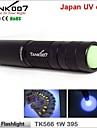 Tank007® LED-Ficklampor / Ultravioletta ficklampor / Ficklampor LED 180 Lumen 1 Läge - AAVattentät / Laddningsbar / Greppvänlig /