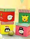 Merry Christmas Decorating Gift Boxes(Elk,Santa Claus,Penguin,Snowman)