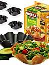 noi 4buc / lot salata tortilla perfecta copt mucegai castron tavă