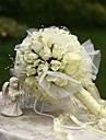 """Wedding Flowers Round Roses Bouquets Wedding Party/ Evening Silk 7.87""""(Approx.20cm)"""