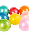 ballons ronds nacres (peut choisir la couleur, 100pcs)