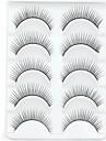 Nouvelle longue epaisse oeil 5 paires naturel noir faux cils cils cils pour les extensions des yeux de jour