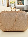 Leatherette Wedding / Special Occasion Clutches / Evening Handbags with Metal (More Colors)