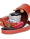 appareil photo en cuir pajiatu® pu etui de protection pour sony alpha A5000 ILCE-5000 A5100 ILCE-5100 nex-3n
