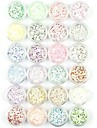 24 Manucure De oration strass Perles Maquillage cosmetique Manucure Design
