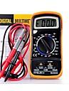 Noir jaune MAS830L Volt Amp Ohm Metre numerique Multimetre w 2 Cables