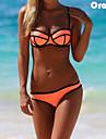 colore sexy set blocco neoprene bikini delle donne
