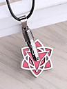 Bijoux Inspire par Naruto Cosplay Anime Accessoires de Cosplay Colliers Rouge Alliage Masculin