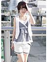 de vară pantaloni populare ocazionali scurte alb
