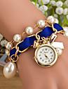 wanbao elegante montre bracelet de perles des femmes