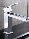 hpb® Centerset poignee seul trou dans salle de bain chrome robinet evier