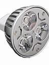 3W GU5.3(MR16) LED-spotlights MR16 3 Högeffekts-LED 330 lm Varmvit / Kallvit Dimbar DC 12 / AC 12 V