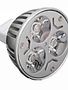 3W GU5.3(MR16) LED Spot Lampen MR16 3 High Power LED 330 lm Warmes Weiss / Kuehles Weiss Dimmbar DC 12 / AC 12 V