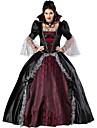 Costumes de Cosplay Costume de Soiree Vampire Fete / Celebration Deguisement d\'Halloween Noir Retro Robe Plus d\'accessoires Halloween