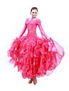 vestido de spandex con lentejuelas de baile de salon de baile dancewear de las mujeres (mas colores)