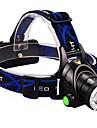 Belysning Pannlampor LED 2000 Lumen 3 Läge Cree XM-L T6 18650 Justerbar fokus Vattentät Vinklad Ficklampa Multifunktion Aluminiumlegering