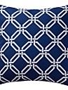 Polyester Housse de coussin / Coussin avec rembourrage , Geometrique Moderne/Contemporain